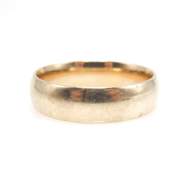 10K Yellow Gold Comfort Fit Gents Wedding Band