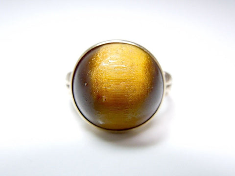 Late Victorian Tiger's Eye Gold Ring