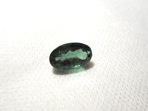 4.27 ct Oblong Oval Green Blue Tourmaline