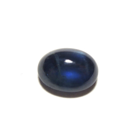 3.46 ct Rich Blue Oval Cabochon Sapphire