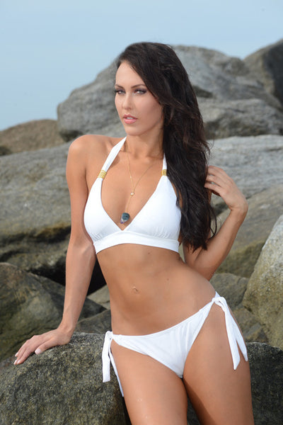 International Competition Swimsuit - White