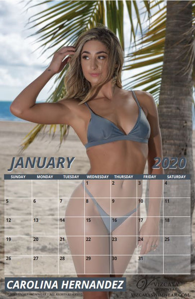 2020 Miss Vizcaya Swimwear Calendar - Available now!