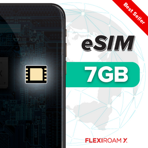 7GB Global Data Plan + eSIM (valid for 360 days)