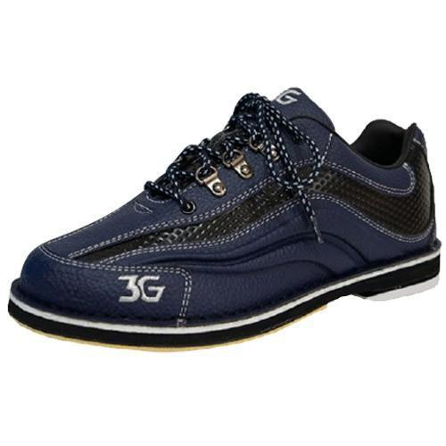 3G Mens Sport Ultra Blue Black Right Hand Bowling Shoes - DiscountBowlingSupply.com