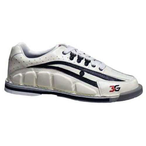 3G Mens Tour Ultra White Black Right Hand - DiscountBowlingSupply.com