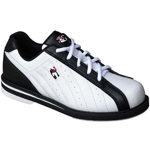 3G Unisex Kicks Black White - DiscountBowlingSupply.com