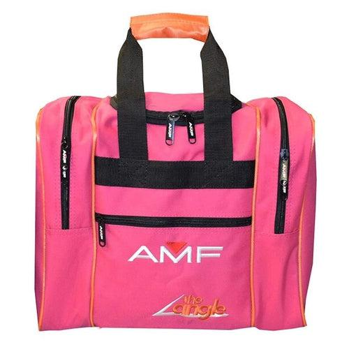AMF The Angle Single Deluxe Tote Pink/Orange Bowling Bag - DiscountBowlingSupply.com