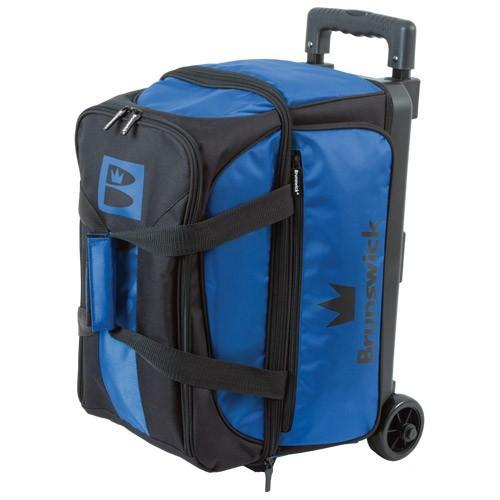 Brunswick Blitz Double Roller Blue-Bowling Bag-DiscountBowlingSupply.com