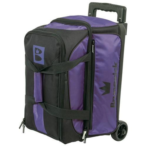 Brunswick Blitz Double Roller Purple-Bowling Bag-DiscountBowlingSupply.com