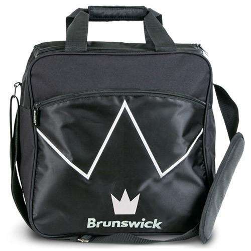 Brunswick Blitz Single Tote Black - DiscountBowlingSupply.com
