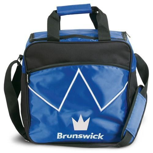 Brunswick Blitz Single Tote Blue - DiscountBowlingSupply.com