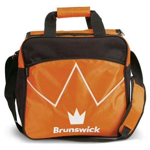 Brunswick Blitz Single Tote Orange - DiscountBowlingSupply.com