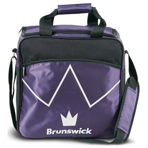Brunswick Blitz Single Tote Purple - DiscountBowlingSupply.com
