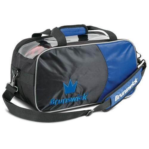 Brunswick Crown Double Tote Royal - DiscountBowlingSupply.com