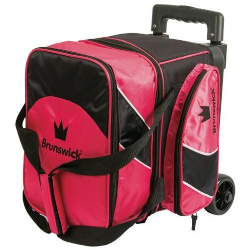 Brunswick Edge Single Roller Pink-Bowling Bag-DiscountBowlingSupply.com