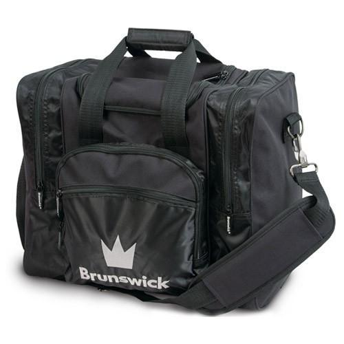 Brunswick Edge Single Tote Black - DiscountBowlingSupply.com