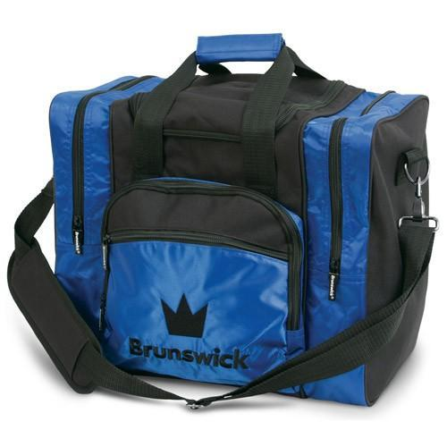 Brunswick Edge Single Tote Blue - DiscountBowlingSupply.com