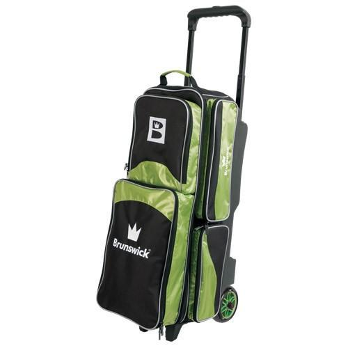 Brunswick Edge Triple Roller Lime-Bowling Bag-DiscountBowlingSupply.com