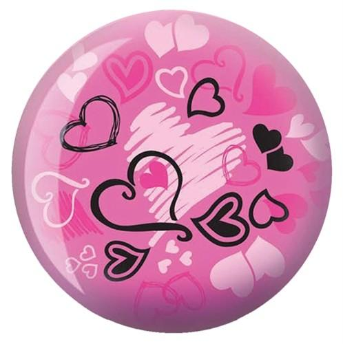 Brunswick Hearts All Over Viz-A-Ball - DiscountBowlingSupply.com