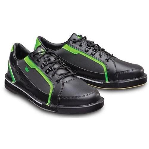 Brunswick Mens Punisher Black Neon Green Right Hand - DiscountBowlingSupply.com