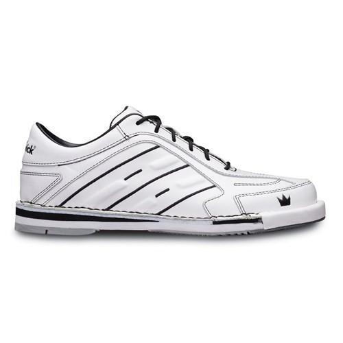 Brunswick Mens Team Brunswick White Right Hand Bowling Shoes - DiscountBowlingSupply.com