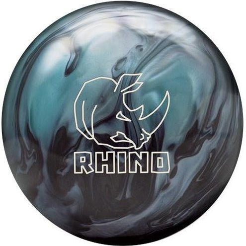 Brunswick Rhino Metallic Blue Black Pearl Bowling Ball-DiscountBowlingSupply.com