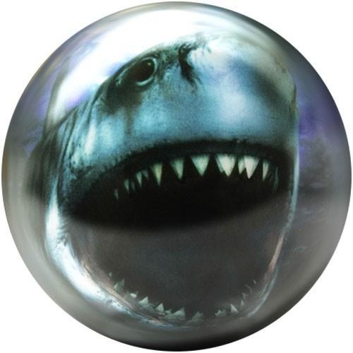 Brunswick Shark Glow Viz-A-Ball-Bowling Ball-DiscountBowlingSupply.com