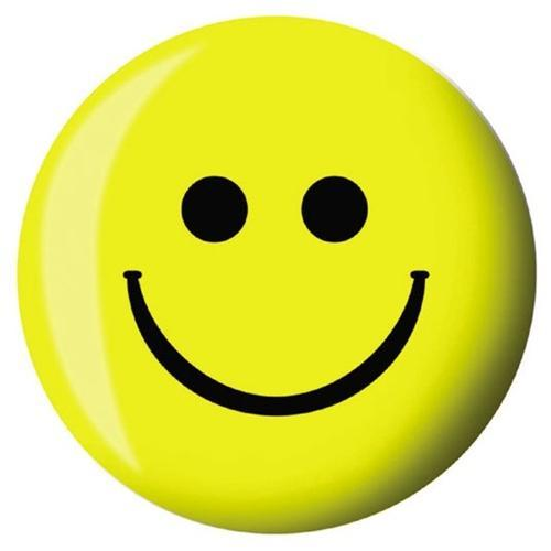 Brunswick Smiley Face Viz-A-Ball-Bowling Ball-DiscountBowlingSupply.com