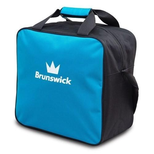 Brunswick T-Zone Single Tote Blue Wave-Bowling Bag-DiscountBowlingSupply.com