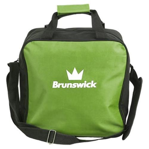 Brunswick T-Zone Single Tote Lime - DiscountBowlingSupply.com