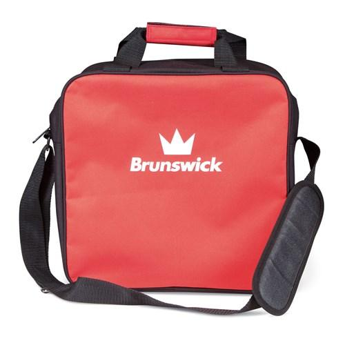 Brunswick T-Zone Single Tote Red Bowling Bag-DiscountBowlingSupply.com