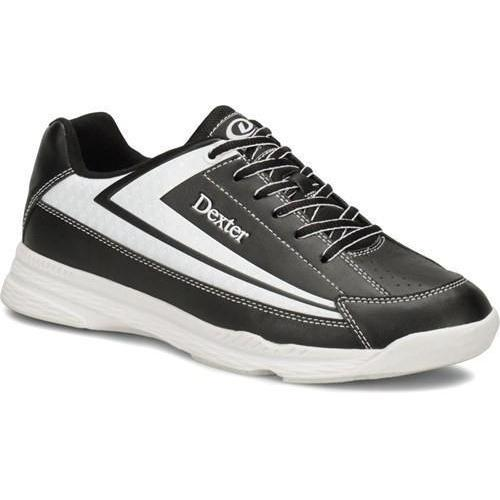 Dexter Boys Jack II Jr. Black White Bowling Shoes - DiscountBowlingSupply.com