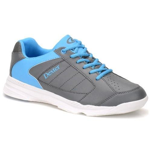 Dexter Mens Ricky IV Grey Blue - DiscountBowlingSupply.com