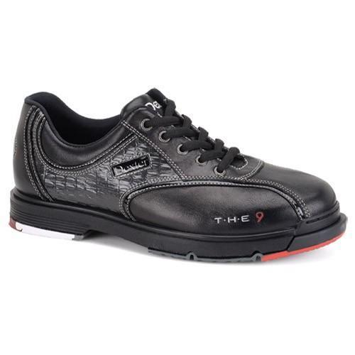 Dexter Mens THE 9 Black Crocodile Wide Bowling Shoes - DiscountBowlingSupply.com
