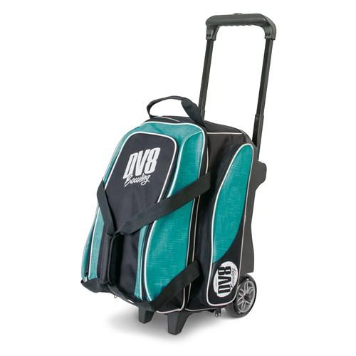 DV8 Circuit Double Roller Teal-Bowling Bag-DiscountBowlingSupply.com