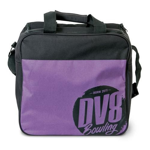 DV8 Freestyle Single Tote Purple Bowling Bag - DiscountBowlingSupply.com