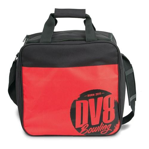 DV8 Freestyle Single Tote Red-Bowling Bag-DiscountBowlingSupply.com