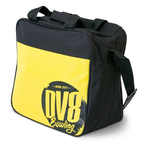 DV8 Freestyle Single Tote Yellow Bowling Bag - DiscountBowlingSupply.com