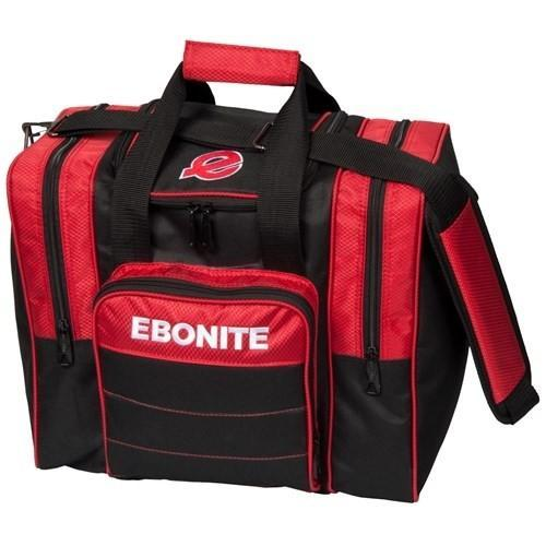 Ebonite Impact Plus Single Tote Red - DiscountBowlingSupply.com