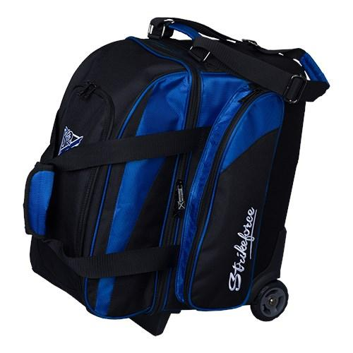 KR Cruiser Locker Double Roller Black Royal-Bowling Bag-DiscountBowlingSupply.com