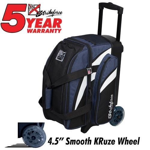 KR Cruiser Double Roller Navy - DiscountBowlingSupply.com
