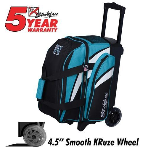 KR Cruiser Double Roller Teal - DiscountBowlingSupply.com