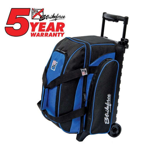 KR Eliminator 2 Ball Double Roller Royal-Bowling Bag-DiscountBowlingSupply.com