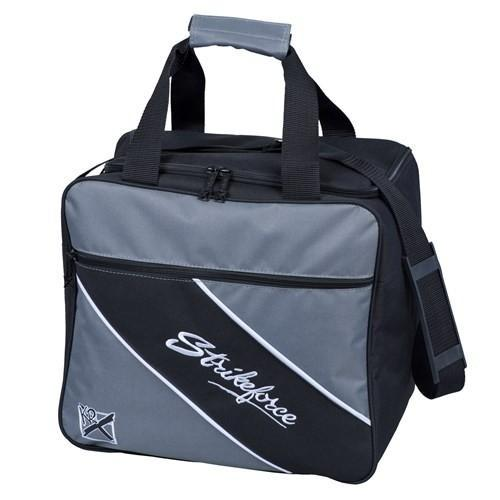 KR Fast Single Tote Charcoal - DiscountBowlingSupply.com
