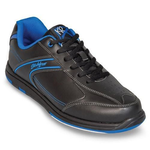 KR Mens Flyer Black Blue Wide - DiscountBowlingSupply.com