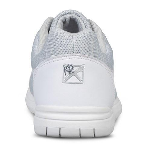 KR Mens Flyer Mesh White Grey Bowling Shoes - DiscountBowlingSupply.com