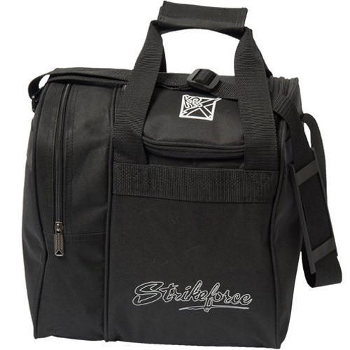KR Rook Single Tote Black-Bowling Bag-DiscountBowlingSupply.com