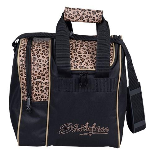 KR Rook Single Tote Leopard Bowling Bag-DiscountBowlingSupply.com
