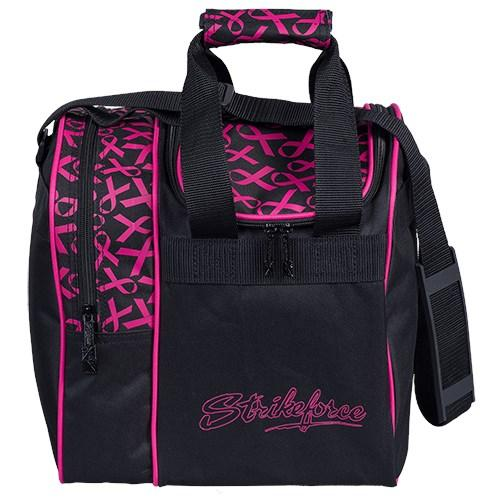 KR Rook Single Tote Pink Ribbon Bowling Bag-DiscountBowlingSupply.com