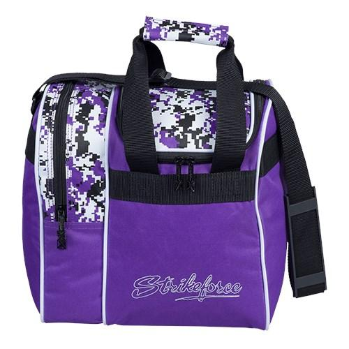 KR Rook Single Tote Purple Digi Camo Bowling Bag-DiscountBowlingSupply.com